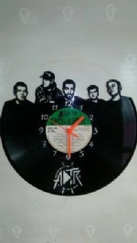 A Day to Remember Vinyl Record Clock