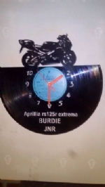 Aprilla RS125R Vinyl Record Clock