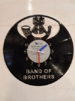 Army Badge Vinyl Record Clock