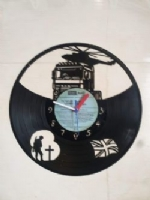 Army Truck Hero Themed Vinyl Record Clock