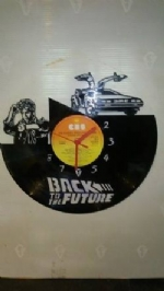 Back To The Future Vinyl Record Clock