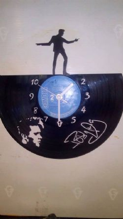 Billy Fury Vinyl Record Clock