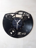 BMW Z4 Vinyl Record Clock