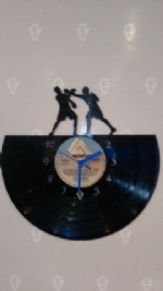 Boxing Vinyl Record Clock
