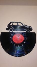Chrysler Crossfire Vinyl Record Clock