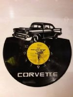 Chevrolet Corvette Vinyl Record Clock
