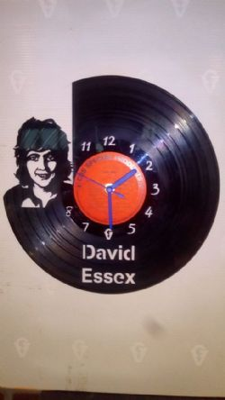 David Essex Vinyl Record Clock
