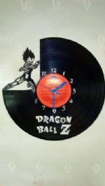 Dragon Ball Z Vinyl Record Clock