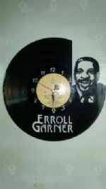 Erroll Garner Vinyl Record Clock