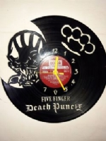 Five Finger Death Punch Vinyl Record Clock