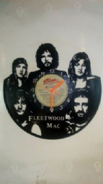 Fleetwood Mac Vinyl Record Clock