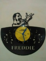 Freddie Mercury Top Notes Vinyl Record Clock