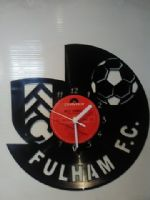 Fulham FC Football Vinyl Record Clock