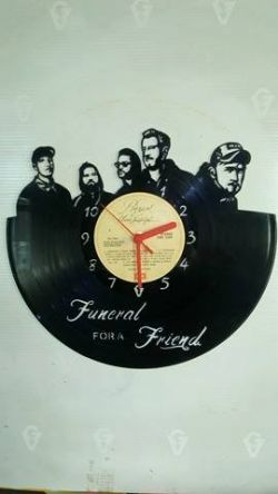 Funeral for a Friend Vinyl Record Clock