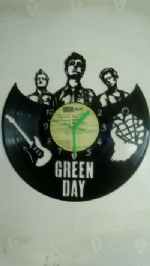 Greenday Vinyl Record Clock