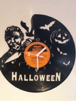 Halloween Michael Myers Vinyl Record Clock
