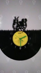 Jacob Sheep Vinyl Record Clock
