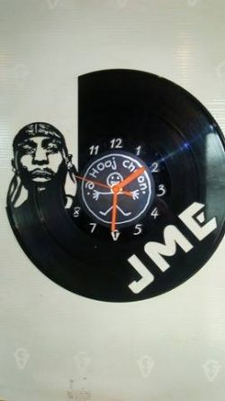 JME Themed Vinyl Record Clock