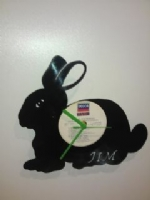 Bunny Rabbit Vinyl Record Clock