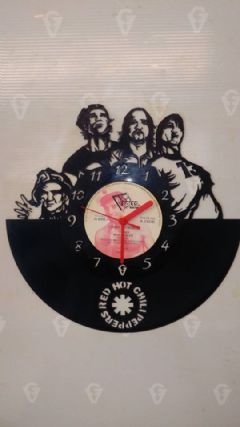 Red Hot Chilli Peppers Vinyl Record Clock