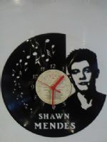 Shawn Mendes Vinyl Record Clock