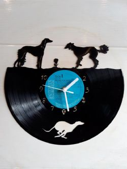 Suzuki Motor Bike Vinyl Record Clock