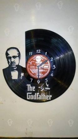 The Godfather Vinyl Record Clock