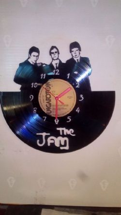 The Jam Group New Vinyl Record Clock