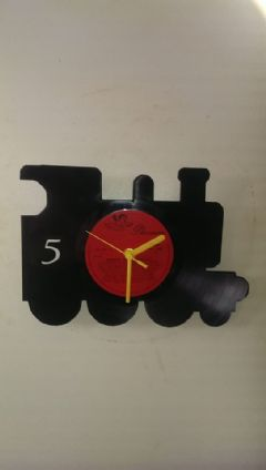 Thomas The Tank Engine James Vinyl Record Clock