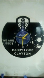 We Are Leeds Dad Vinyl Record Clock
