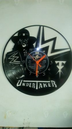 WWE Wrestling The Undertaker Record Clock